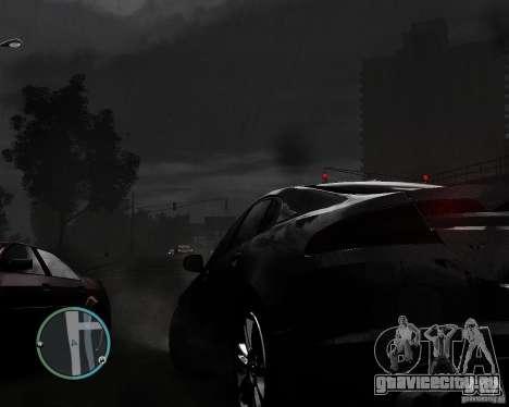 Jaguar XF-R для GTA 4 вид изнутри