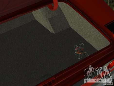 Dodge Charger 426 R/T 1968 v2.0 для GTA Vice City вид снизу