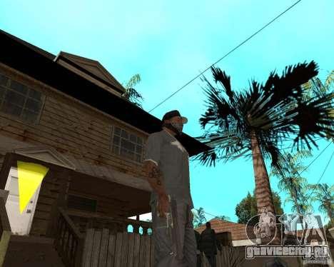 Desert Eagle из CoD:MW2 для GTA San Andreas третий скриншот