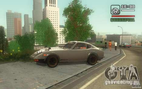Datsun 240ZG для GTA San Andreas вид слева