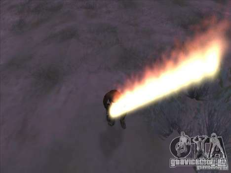 Огненный меч для Си Джея для GTA San Andreas третий скриншот