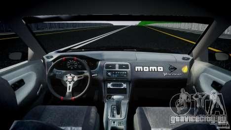 Nissan 240sx Toyo Kawabata для GTA 4 вид справа
