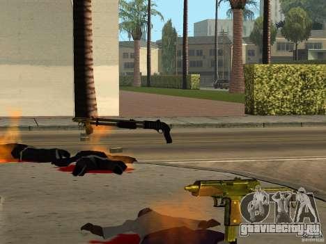 Отечественное оружие - версия 1.5 для GTA San Andreas одинадцатый скриншот