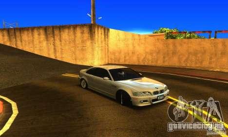 BMW M3 Tuneable для GTA San Andreas вид справа