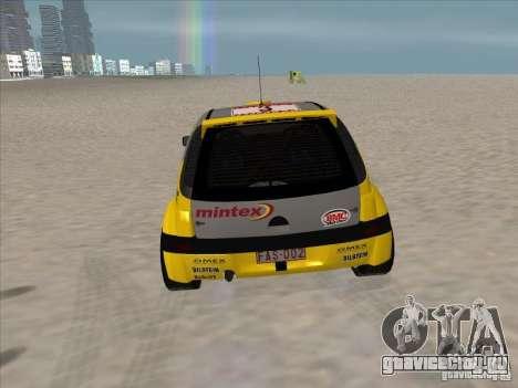 Opel Rally Car для GTA San Andreas вид справа
