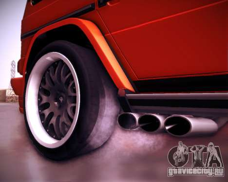 Mercedes-Benz G65 AMG 2013 Hamann для GTA San Andreas вид снизу
