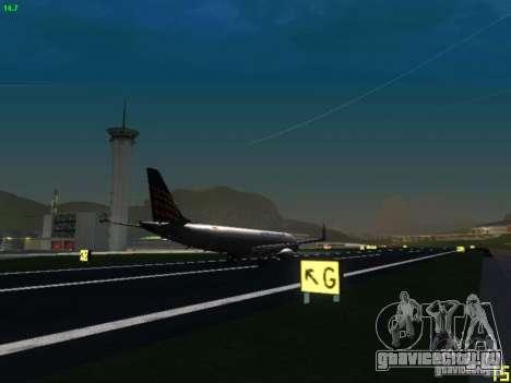 Embraer ERJ 190 Lufthansa Regional для GTA San Andreas вид сзади