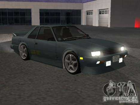 Nissan Skyline RS R30 для GTA San Andreas вид изнутри