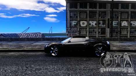 Opel Speedster Turbo для GTA 4 вид слева