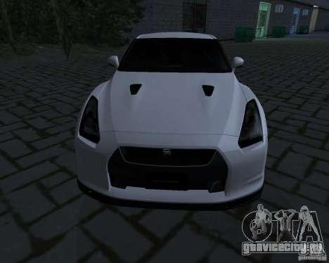 Nissan GTR-35 Spec-V для GTA San Andreas вид слева