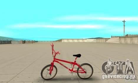 Noxon Jump Bmx для GTA San Andreas вид слева