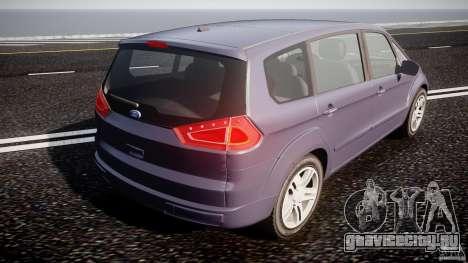 Ford Galaxy S-Max для GTA 4 вид сбоку