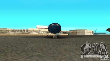 Boeing 727-200 Final Version для GTA San Andreas вид сзади слева