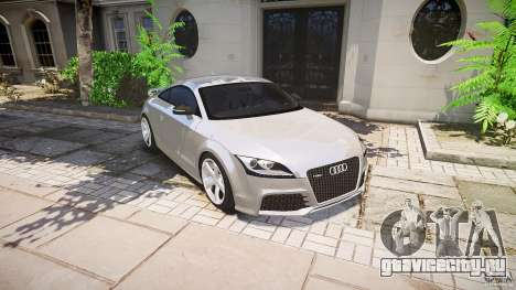 Audi TT RS 2010 для GTA 4 двигатель