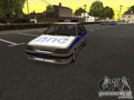 ВАЗ 2114 Полиция для GTA San Andreas