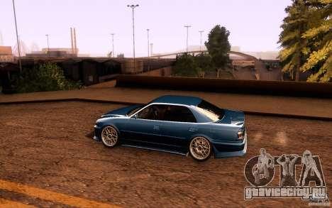 Toyota Chaser JZX100 для GTA San Andreas вид снизу
