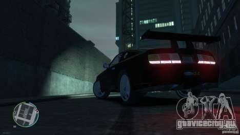 Ford Mustang GTR для GTA 4 вид слева