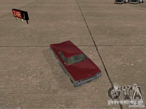 Voodoo из GTA 4 для GTA San Andreas вид сзади