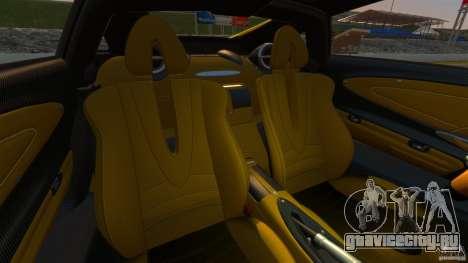 Pagani Huayra 2011 [EPM] для GTA 4 вид сзади