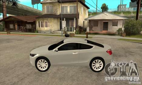Honda Accord Coupe 2009 для GTA San Andreas