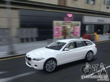 BMW M5 F11 Touring V.2.0 для GTA 4 вид изнутри