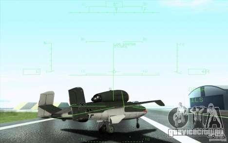 Henkel 162A Salamander для GTA San Andreas вид снизу