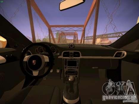 Porsche 911 для GTA San Andreas вид сверху