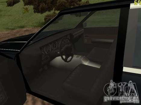 Такси Романа из GTA 4 для GTA San Andreas вид справа