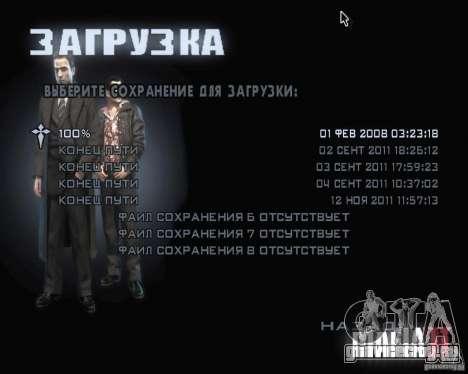 Загрузочные экраны из Мафия 2 для GTA San Andreas четвёртый скриншот