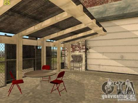 Автосервис около Grove для GTA San Andreas четвёртый скриншот