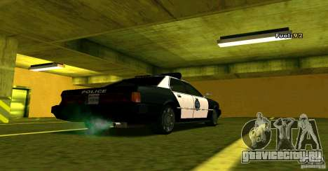Sentinel Police LV для GTA San Andreas вид слева