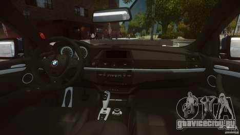 BMW Motorsport X6 M для GTA 4 вид справа
