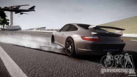 Porsche GT3 997 для GTA 4 вид сзади