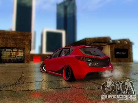 Mazda Speed 3 2010 для GTA San Andreas вид слева