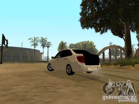 Лада Гранта для GTA San Andreas вид слева