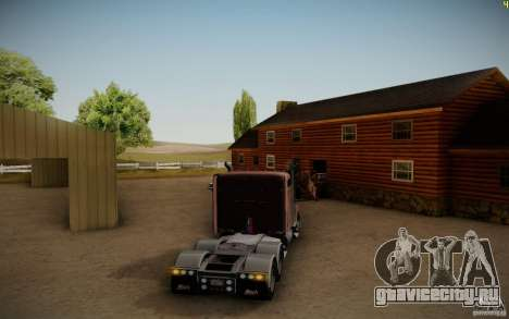 Mack Pinnacle Rawhide Edition для GTA San Andreas вид справа