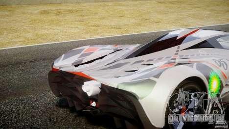 Mazda Furai Concept 2008 для GTA 4 салон