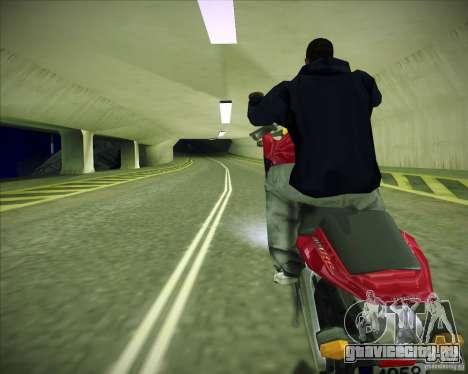 Honda CBR600RR 2005 для GTA San Andreas вид сзади слева