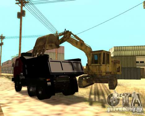 Экскаватор для GTA San Andreas