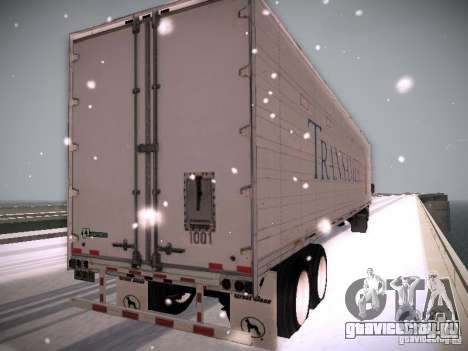 Trailer Artict1 для GTA San Andreas вид сзади слева