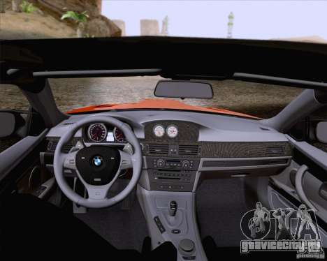BMW M3 GT-S Fixed Edition для GTA San Andreas вид сбоку