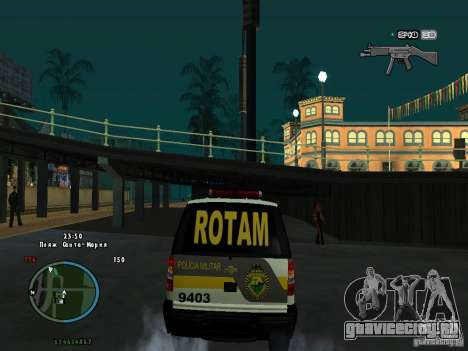 Chevrolet Blazer для GTA San Andreas вид справа