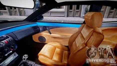 Fiat Coupe 2000 для GTA 4 вид изнутри