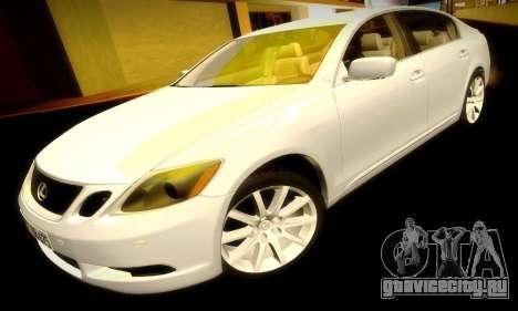 Lexus GS430 для GTA San Andreas вид сверху