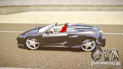 Ferrari F430 Extreme Tuning для GTA 4 вид сзади слева