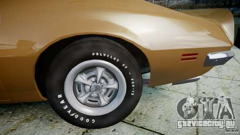 Pontiac Firebird 1970 для GTA 4 вид справа