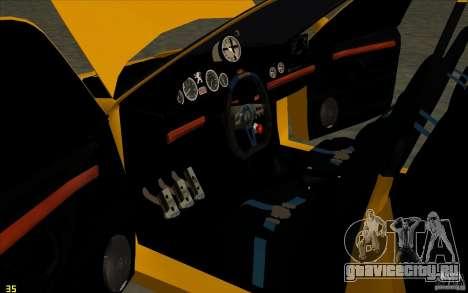 Peugeot 406 Taxi для GTA San Andreas вид сбоку