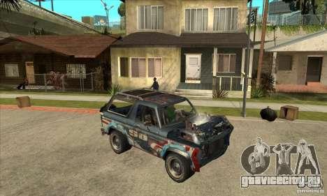 Blaster XL from FlatOut2 для GTA San Andreas вид сзади