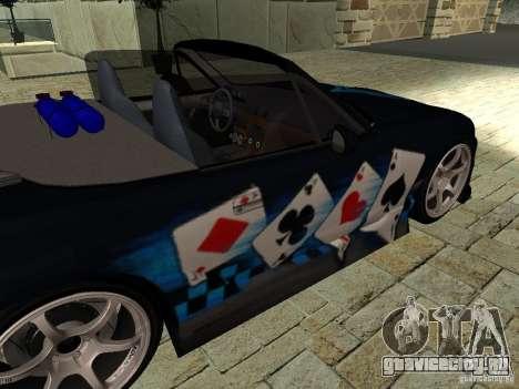 Mazda MX5 Miata для GTA San Andreas вид справа