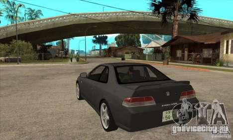 Honda Prelude SiR для GTA San Andreas вид сзади слева